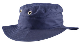 Occunomix Miracool Terry Lined Ranger Hat - Occunomix Blue ranger hat with wide brim and has 2 holes with metal grommets
