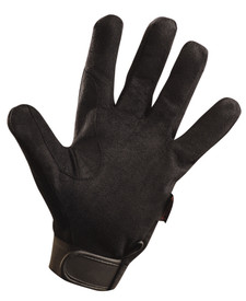 Occunomix Hook & Loop Closure Work Glove - Occunomix Black work glove with hook & loop Velcro wrist