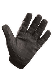 Occunomix Kevlar Cut Resistant Hook & Loop Work Glove - Occunomix Black anti slip gripping work gloves, covers all fingers