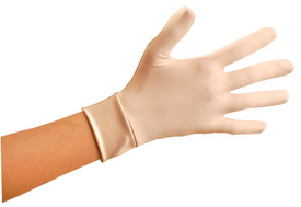 Occunomix Ergonomic Spandex Hand &Added  Wrist Protection - Occunomix Light skin color glove and cuff around wrist