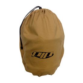 PIP Cotton Arc Shield Protective Storage Bag - Brown drawstring adjustable wide protective safety storage bag.