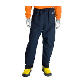 PIP Flame Resistant 40 Cal CAT 4 Navy Lightweight Pants - Navy blue adjustable ankle and waist lightweight safety work pants.