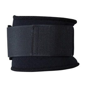 PIP Latex Free Terry Lined Elbow Support Pad - Navy blue terry cloth lined adjustable elbow support pad.