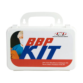 PIP Blood borne Pathogen - Bio-Hazard Kit - Small standard blood borne pathogen bio hazard kit in package.
