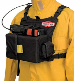 True North RH6400 Dozer Crew Radio Chest Harness - Over chest harness to carry large crew radios.