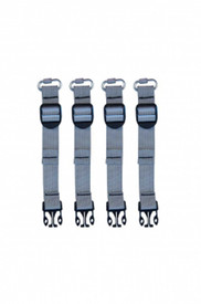 True North RH500 Radio Harness Gear Bag Straps - Straps to harness radios to chest straps and harnesses.
