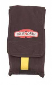 True North Hose Clamp Pouch - Clamp for hoses in adjustable attachable pouch for large packs.
