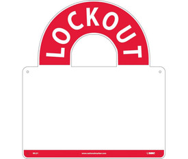 Mini Lockout Center With Supplies - Aris Industrial red and white Mini Lockout Center with no supplies.