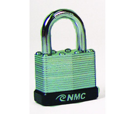 Laminated Padlocks In A Variety Of Colors - Aris Industrial laminated Black Padlock