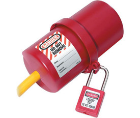 Electrical Red Plug Lockout Rotating - Aris Industrial Electrical Red Plug Rotating Lockout