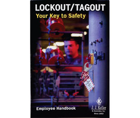 Lockout Safety Training Handbook - Aris Industrial Safety Handbook titled Lockout Tagout Controlling Your key to Safety.