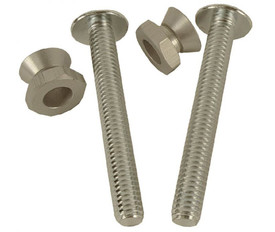 Tamper Resistant Bolt And Nut Pack - Aris Industrial Two stainless screws with two bolts