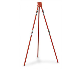 Roll Up Traffic Sign Tripod Stand - Aris Industrial TRAFFIC Rollup Sign Tripod STAND