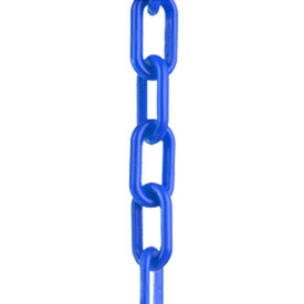 Plastic Chain Connectors - Aris Industrial Blue plastic link chain