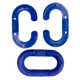 Plastic Chain Connecting Links - Aris Industrial Blue connecting plastic chain links