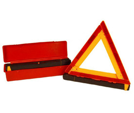Emergency Warning Roadside Triangle Kit - Aris Industrial Emergency warning triangle kit