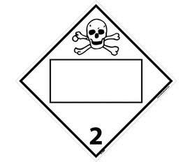 national marker safety signs nmc signs labels tags GHS Labels poison gas 2 flammable non flammable blank placard sign aris industrial white