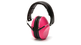 Pyramex VG90 Venture Gear Ear Muff - Pink earmuffs with padded headband