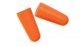 Pyramex Disposable Uncorded Ear Plugs - 2 orange foam disposable ear plugs