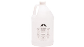 Pyramex Gallon of Lens Cleaning Solution - Large gallon white bottle of glasses cleaning solution