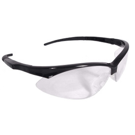 Radians RAD Apocalypse Soft Anti-Fog Safety Glasses - RAD Apocalypse Anti-Fog Clear Lens Black Frames Safety Glasses