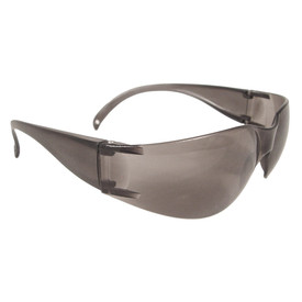 Radians Mirage USA Lightweight WrapAround Safety Glasses - light brown frameless wrap around safety glasses with light brown lenses