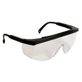 d711e4a01363 Radians G4 JR One Piece Lens Safety Glasses - black frame wrap around safety  glasses with