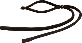 Safety Glasses 3/16 Woven Cord - Radians Adjustable size rope slide on behind head glasses strap
