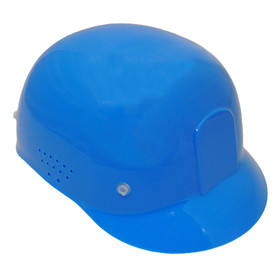 Radians Diamond Bum Cap - Multi Color - blue safety diamond bump cap with holes on the side.