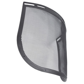 Radians Attachable Face Shields - grey and black hard hat attachable face shield.