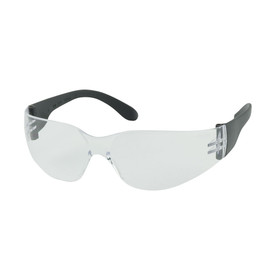 PIP Clear lens rimless less safety glasses wit h black temples