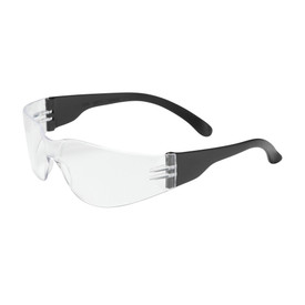 PIP Bouton 250-00-0000 safety glasses with Black temples and clear rimless lens.