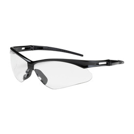 PIP Bouton 250-AN-10110 safety glasses with black temples and Clear semi-rimless lens.