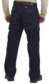 Big Bill Flame Resistant Navy Cargo CAT 2 Pants - back  view