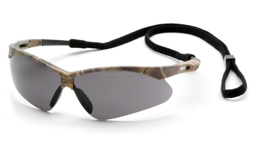 a76856199ec ... Pyramex PMXTREME Vented   Rubber Nose Safety Glasses - Camo half frame  adjustable safety glasses with ...