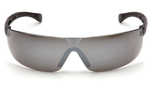 d8a6c8ff995 ... Pyramex Provoq Lightweight Safety Glasses - Lightweight frameless safety  glasses with silver mirrored lenses and black ...