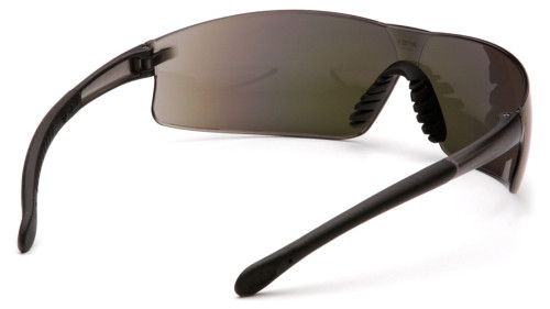 303d20bb0ee ... Pyramex Provoq Lightweight Safety Glasses - Lightweight frameless safety  glasses with multi colored mirrored lenses and ...