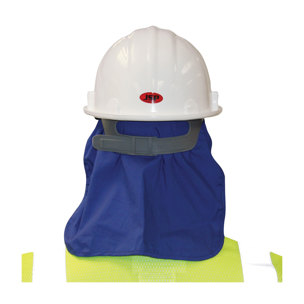 60cd66573bd PIP Evaporating Hard Hat Cooling Pad   Neck Shade - Blue thermal attachment  to hard hat ...