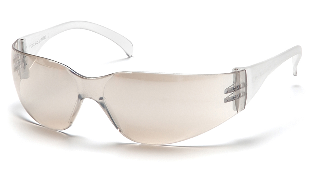 87f9b26425 ... Pyramex Mini Intruder Multi-Color Safety Glasses - Mirrored comfortable  full frame safety glasses with ...