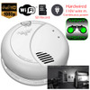 WiFi  AC Powered Night Vision Invisible IR Smoke Detector Nanny Cam (First Alert)