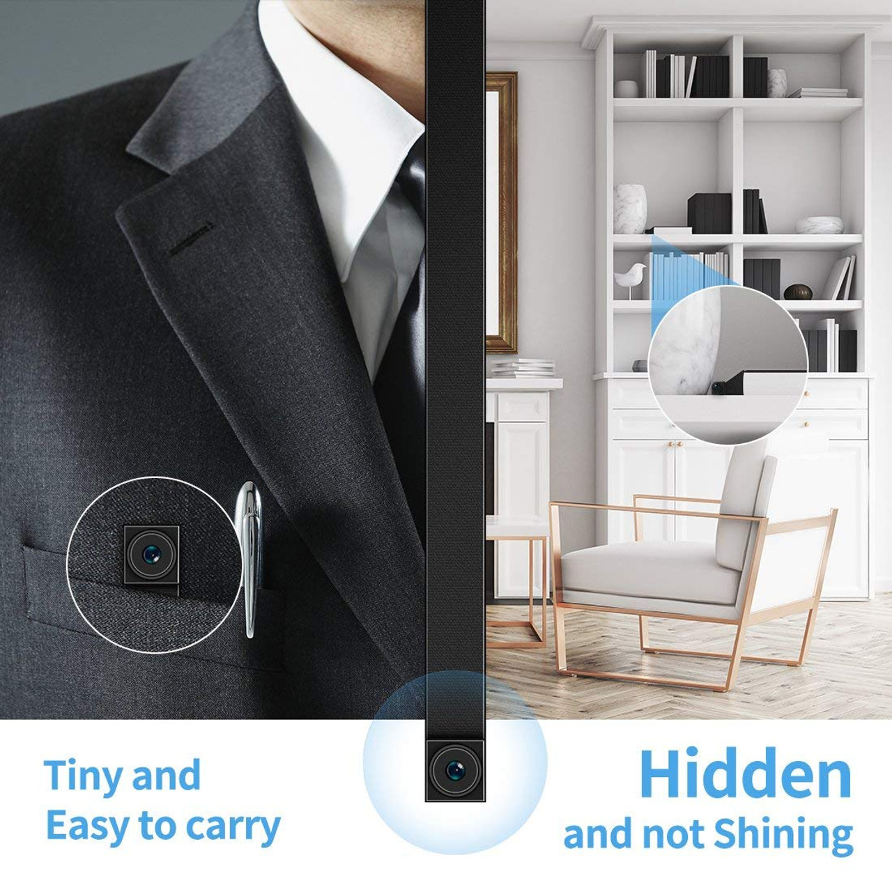 Wireless WiFi IP Security Camera for Home/Office 720P HD