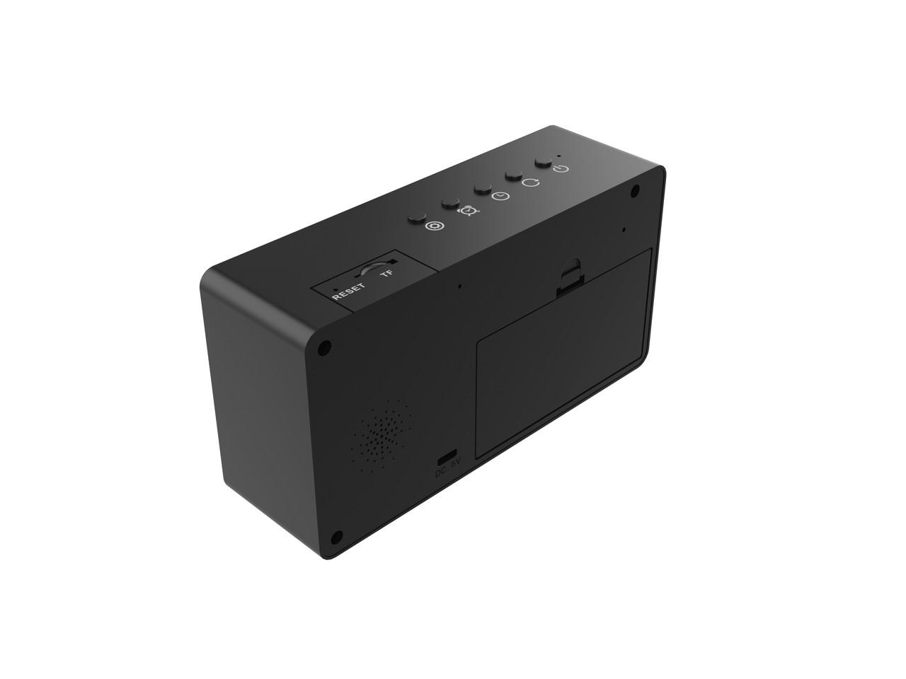 1080P HD Alarm Clock WiFi Nanny Camera With Night Vision  W/ Live View WiFi + Dvr
