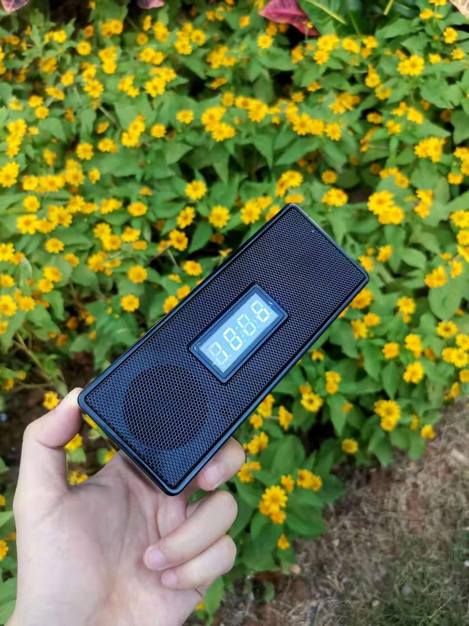 Bluetooth Speaker Alarm Clock WiFi Surveillance Camera
