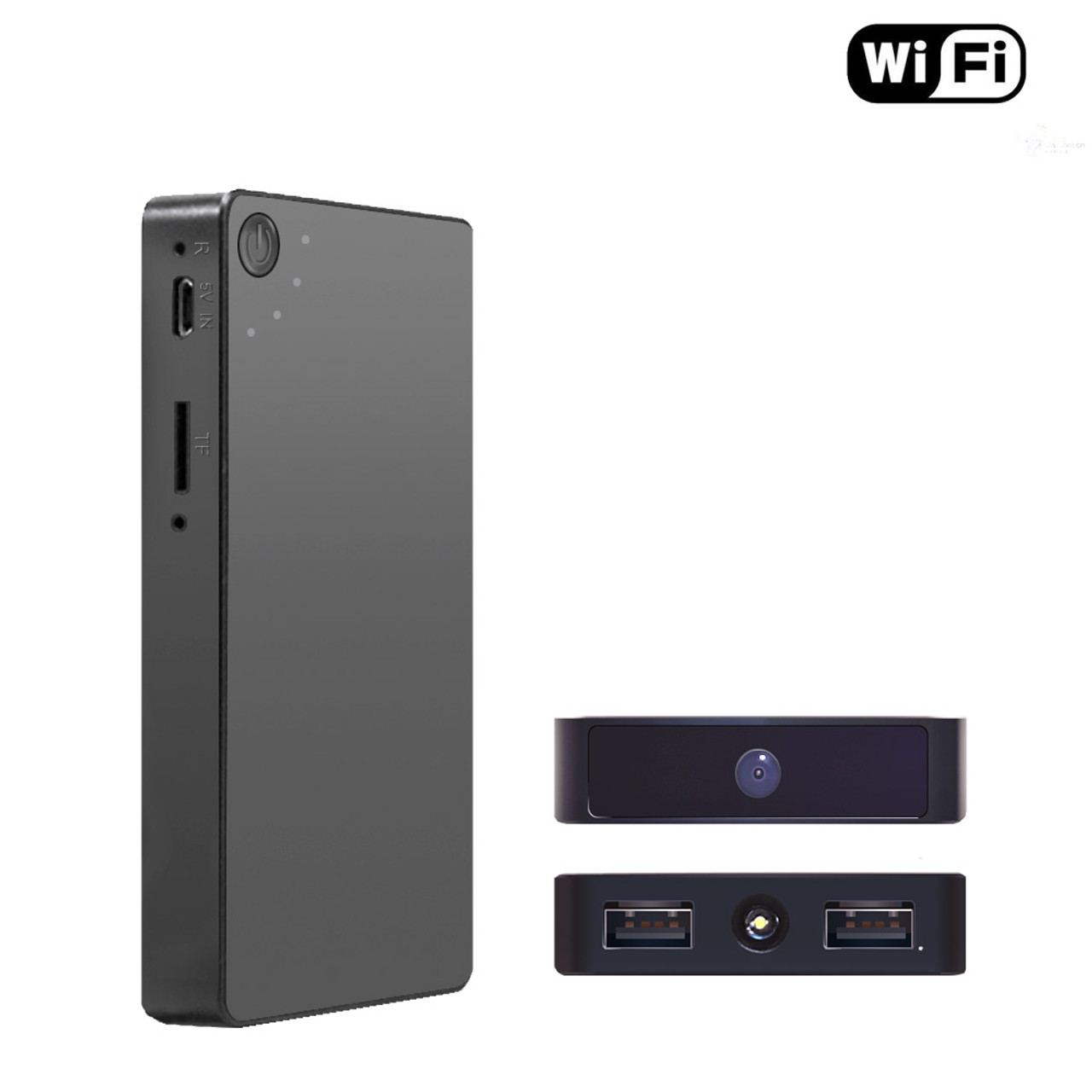 WiFi Camera Power Bank HD 1080P Wireless Security
