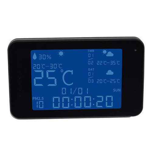1080P HD Smart Weather Station Camera with WiFi Remote Viewing and Night Vision