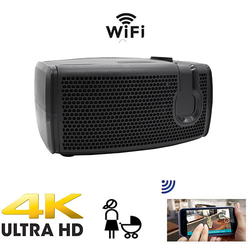 4K Ultra HD  Functional Air Freshener Home Security Camera With Live Streaming Video and Night Vision