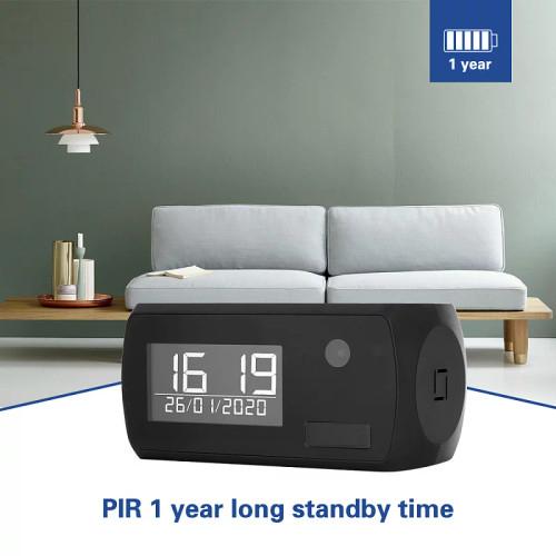 WiFi Surveillance Clock W/365 Day Long Standby  Battery