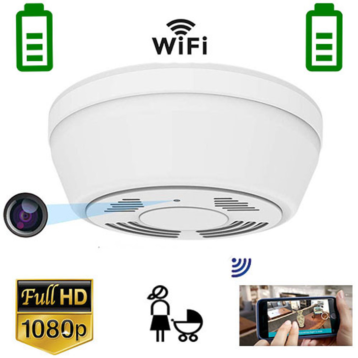 WiFi Night Vision Security Camera, Motion Activated with 180 Days Battery Power,Remote Internet Access,Night Vision,SD Card Slot,Bottom View Lens for Home Security