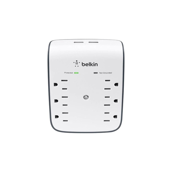 Belkin Oulet Surge Protector Nanny Camera 1080P HD W/ Live View WiFi + Dvr