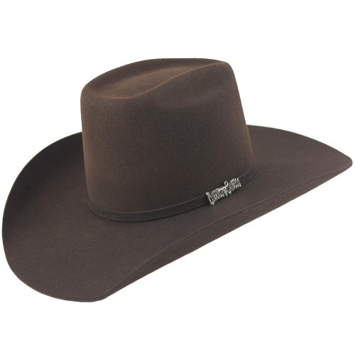 Cuernos Chuecos 6X Brick Crown Felt Hat